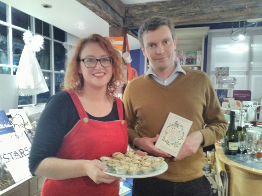 Emma Milne-White from Hungerford Bookshop with Mark Forsyth.jpg