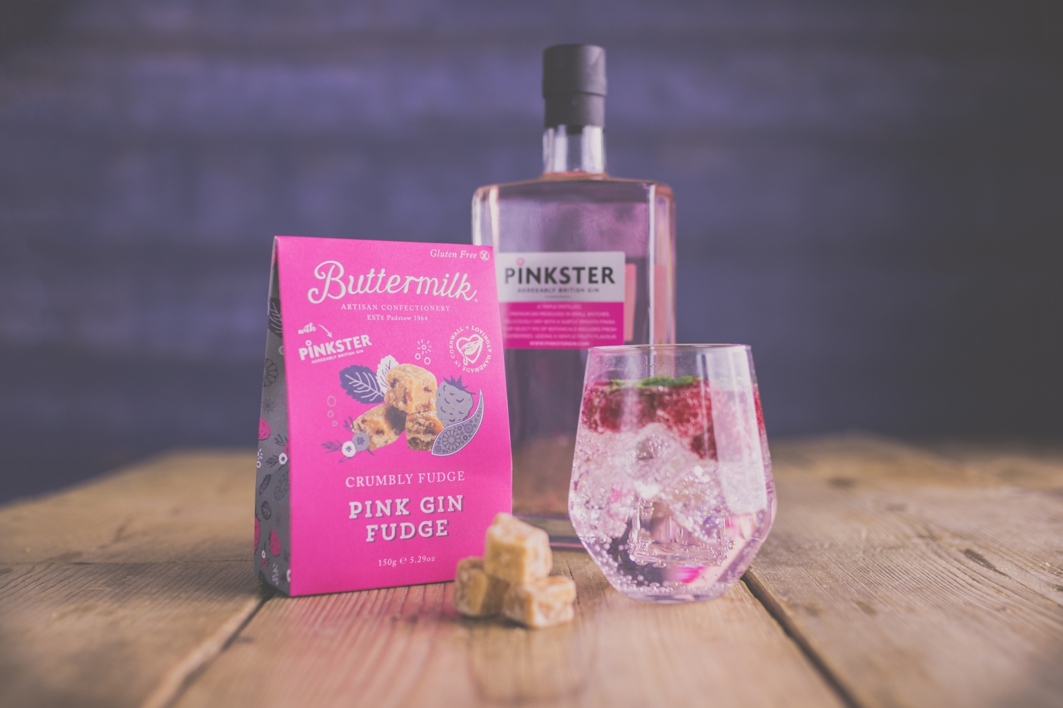 Buttermilk and Pinkster pink gin launch