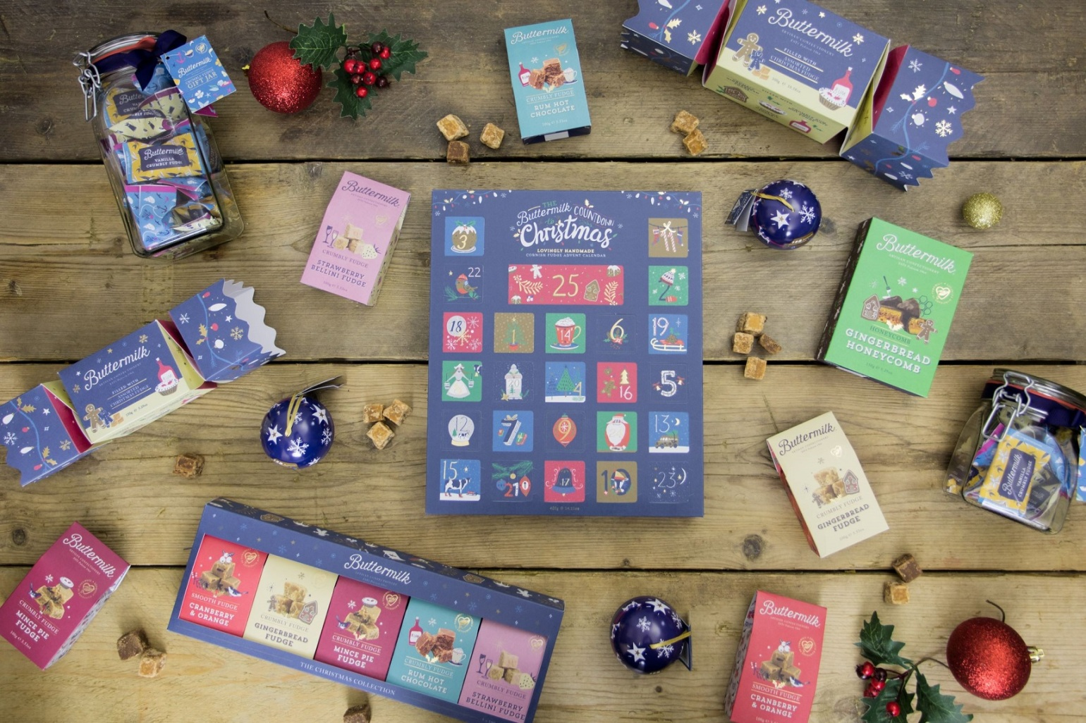 Buttermilk Christmas advent calendar